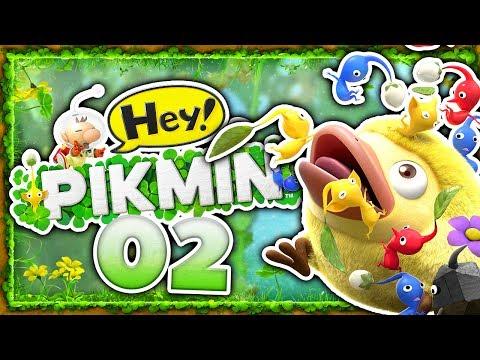 Gebiet 1-C und der Geheimweg! 🌱 02 • Let's Play Hey! PIKMIN