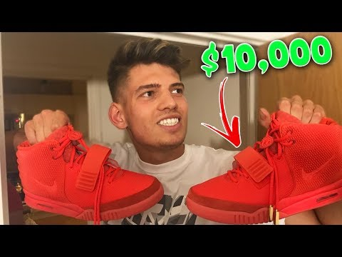 SELLING ROOMMATES $10,000 YEEZYS FOR $1 PRANK!