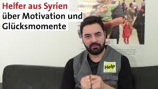 Helfer berichtet aus Syrien | Motivation und Glücksmomente