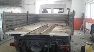Budowa wywrotki na ramie Mercedesa Atego 918