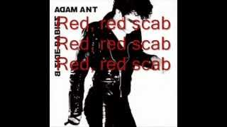 Watch Adam  The Ants Red Scab video