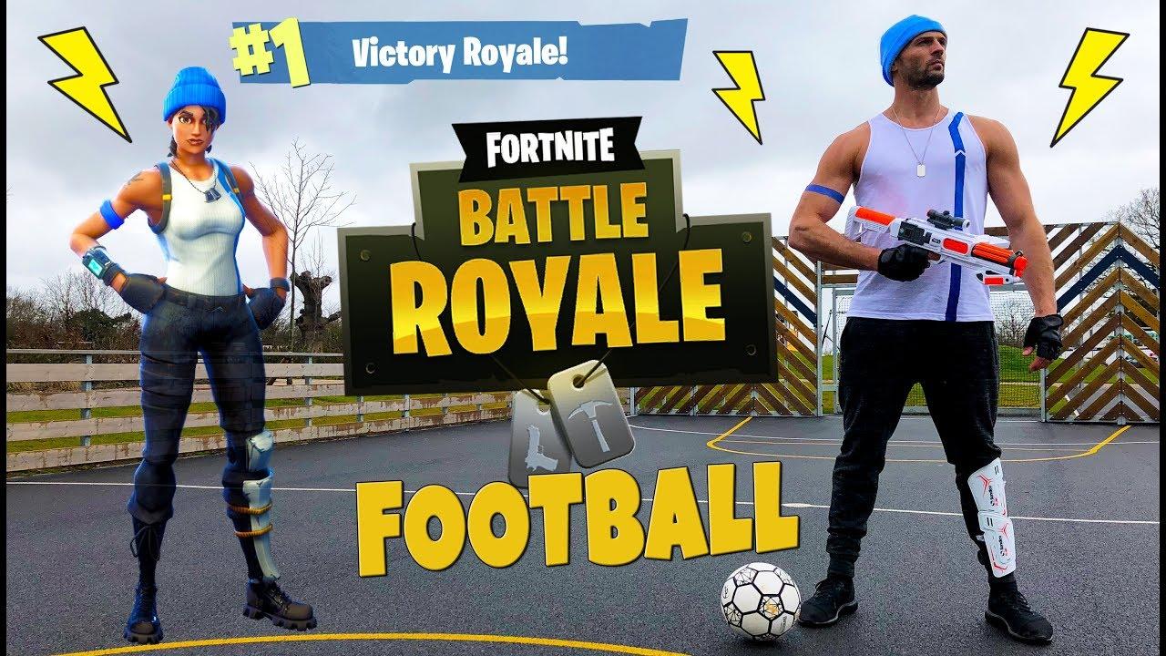 50361591c9e FORTNITE FOOTBALL - BATTLE ROYALE IRL - YouTube