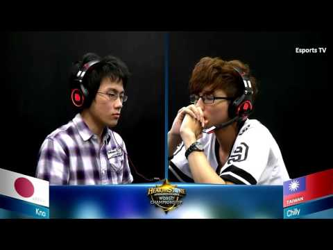 Kno vs Chilly | Hearthstone World Championship 2015 | Asia Pacific Group B
