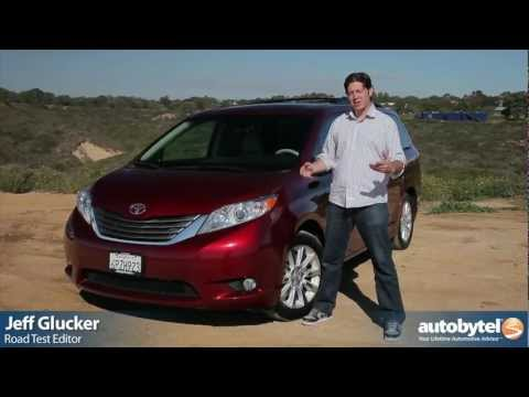 2012 Toyota Sienna Test Drive & Van Review