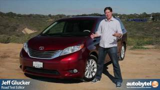 2012 Toyota Sienna Test Drive & Van Review