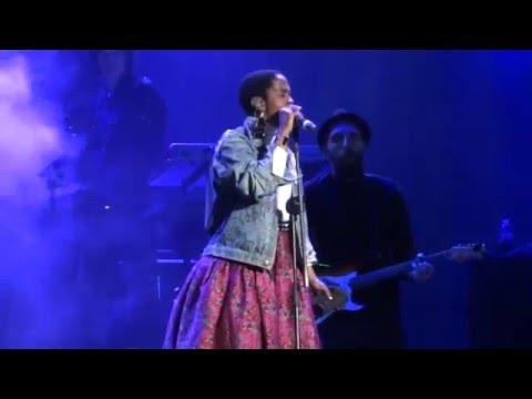 Lauryn Hill  Killing Me Softly,  @ Movistar Free Music, Argentina 2016 HD