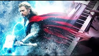 THOR: THE DARK WORLD - Thor: The Dark World [Main Theme] (Piano Cover/Solo) + Sheets Download