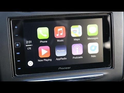 Creative Apple CarPlay By Pioneer Review  First Test  FunnyDogTV