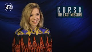 Léa Seydoux On Telling The Untold Stories In Kursk: The Last Mission