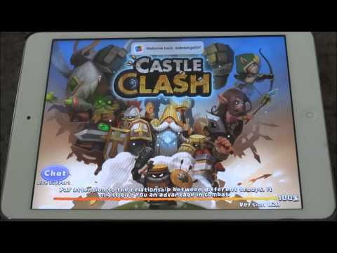 Castle Clash By IGG Now On IPad Or IPhone