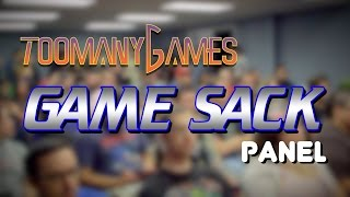 Game Sack Panel at Too Many Games June 2015