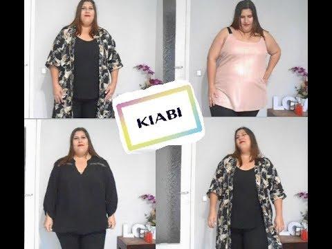 famosa marca de diseñador paquete de moda y atractivo última colección Compras Kiabi 2018 / Tallas grandes