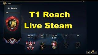 Live Stream T1 Roach - Thách Đấu Hàn - Top 10.14