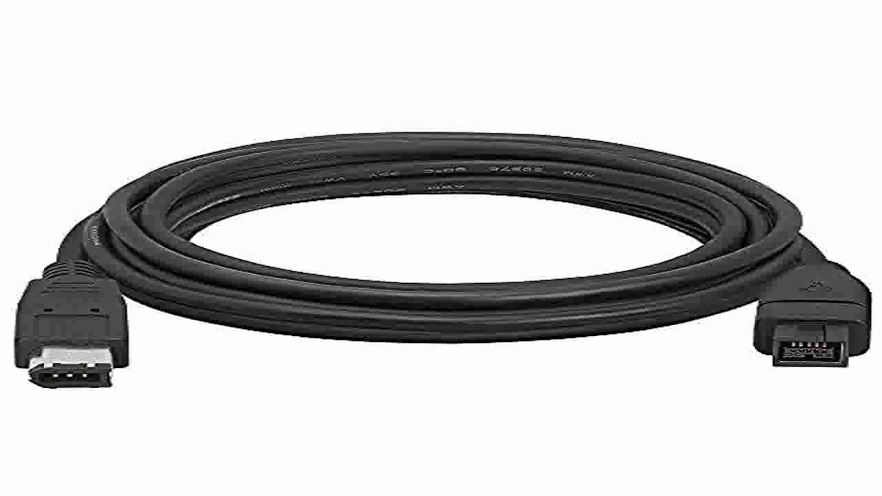 Cmple 9 PIN 6PIN BILINGUAL FireWire 800 FireWire 400 Cable 10FT ...