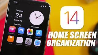 IOS 14 Home Screen Organization - Best Ways To Organize IOS 14 !