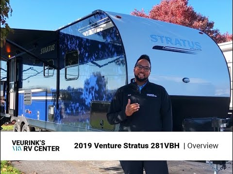2019 Venture Stratus 281VBH Bunk House Travel Trailer at Veurink's RV  Center | Grand Rapids, MI