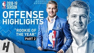 Luka Doncic BEST Offense Highlights from 2018-19 NBA Season! ROOKIE OF THE YEAR (Part 2) Video
