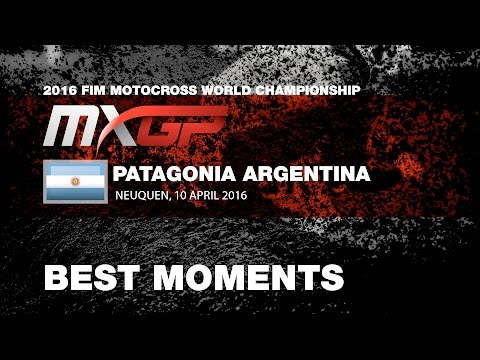 MXGP Best Moments MXGP of Patagonia Argentina 2016