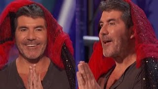 WATCH how  SIMON PRAYs  for    He Is In HEAVEN  ) Someone PLEASE SAVE Him!