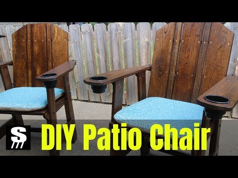 DIY Patio Furniture - How to Make a Chair