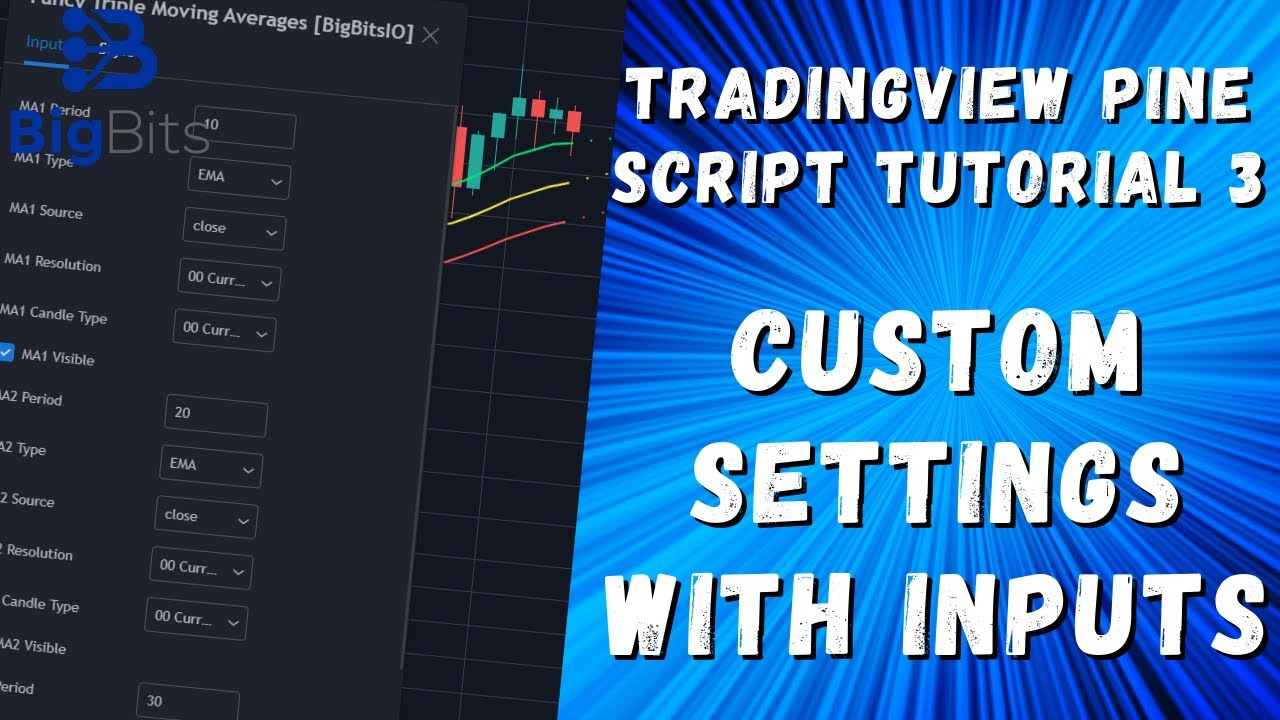 Custom Settings With Inputs - TradingView Pine Script ...