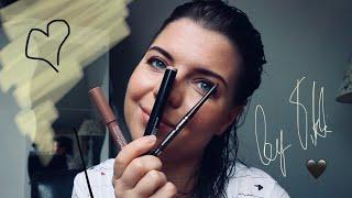 Быстрый стойкий макияж глаз без кистей