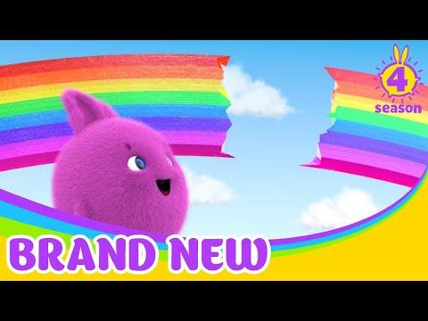 SUNNY BUNNIES Cómo arreglar el arco iris Dibujos animados para niños WildBrain