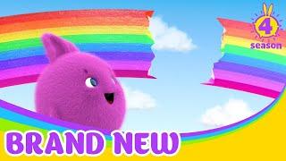 SUNNY BUNNIES | Cómo arreglar el arco iris | Dibujos animados para niños | WildBrain