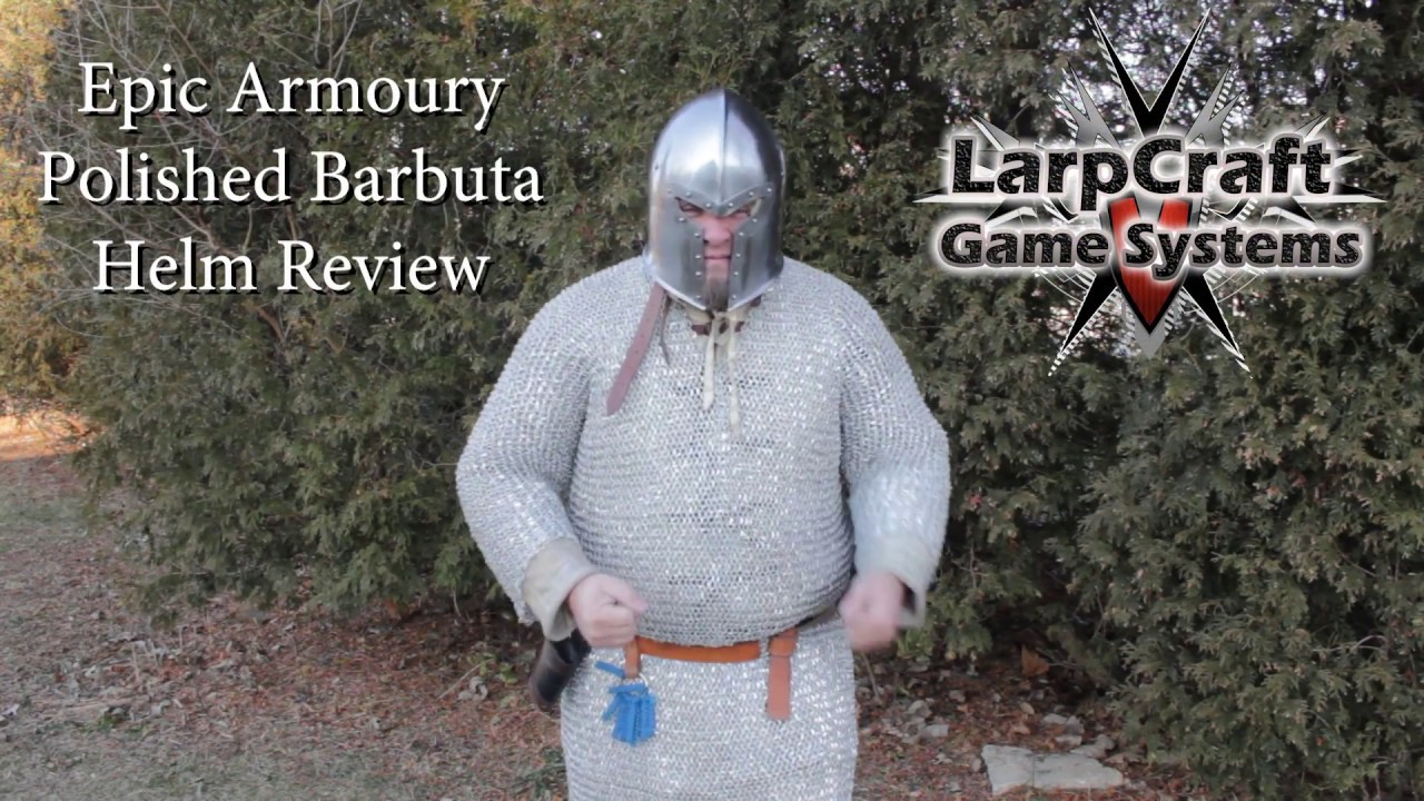 Epic Armoury Barbuta Helm Review
