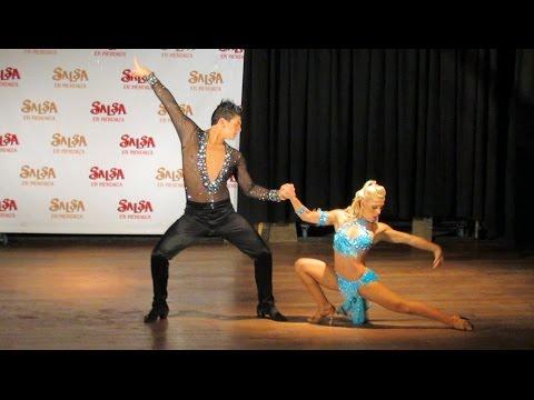 Argentina Salsa Open 2013 ~ Show de la Elimin. Mendoza ~ Karen Forcano & Ricardo Vega (bachata)