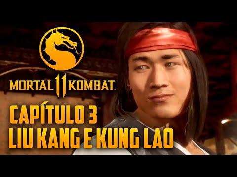 Mortal Kombat 11 Capitulo 03 - Liu Kang e Kung Lao, os SHAOLIN MONKS (PT-BR PS4 PRO)