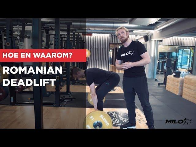 ROMANIAN DEADLIFT | HOE EN WAAROM