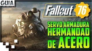 Fallout 76 - Pintura HdA para la Servoarmadura T-60 (Hermandad de Acero)