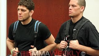 Nick Diaz After Nate Diaz Chokes Out Conor McGregor