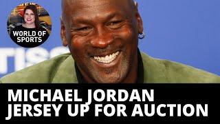 Jordan-mania! Basketball memorabilia goes up on highly anticipated auction