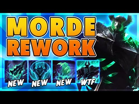*REWORK* 1ST REWORKED MORDE PENTAKILL ON YOUTUBE (1,000+ AP GAMEPLAY) - BunnyFuFuu