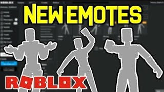 HOW TO GET AND EQUIP ALL 6 EMOTES IN ROBLOX!