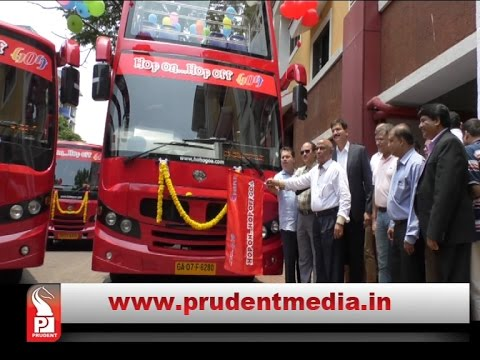 DOUBLE DECKER BUSES IN GOA FOR TOURISTS│Prudent Media Goa