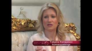 Kosmos Tatjana Karajanov, homeopatija, muzikoterapija