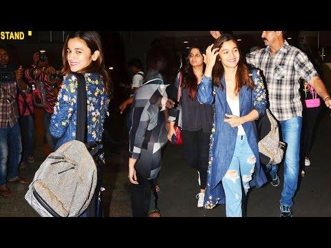 Alia Bhatt Returns To Mumbai, Reveals About Her Next Plans!
