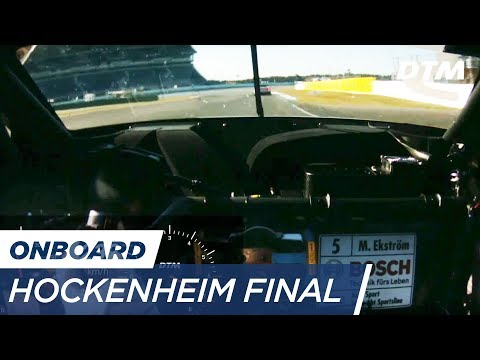 DTM Hockenheim Final 2017 - Mattias Ekström (Audi RS5 DTM) - RE-LIVE Onboard (Race 1)