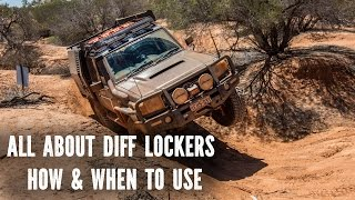 diff lockers, how and when to use