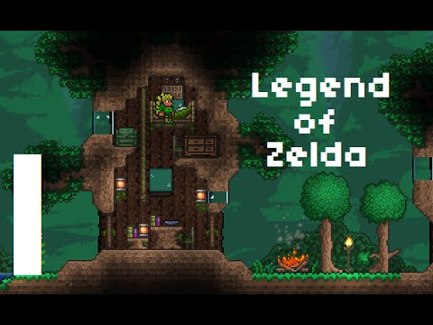 Terraria Adventure: Legend of Zelda: Two Worlds | #1