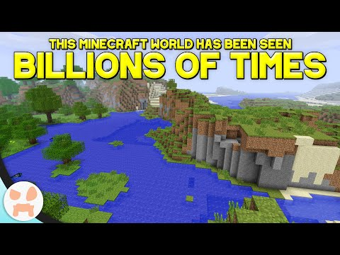 MINECRAFT'S MOST FAMOUS SEED EVER WAS FOUND!