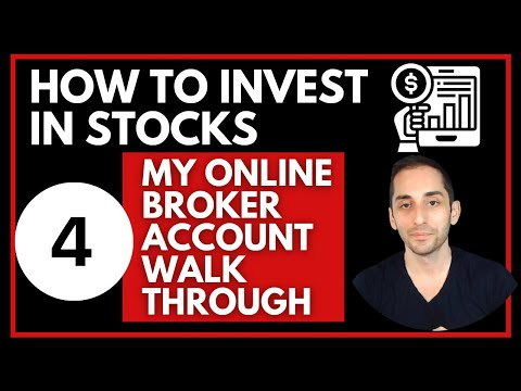 4- HOW TO BUY A STOCKS | BEGINNER'S STEP BY STEP INVESTING GUIDE | MY ONLINE BROKER WALK THROUGH