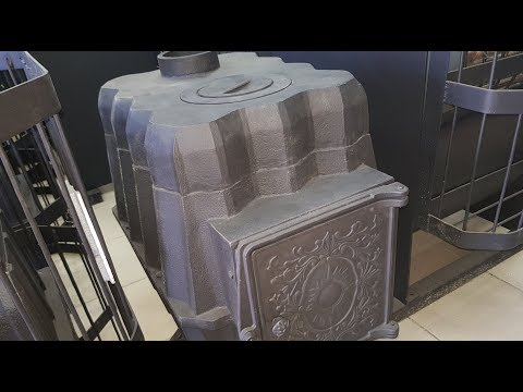 Обзор недорогой чугунной отопительной печи Царская Ч от Татпечь