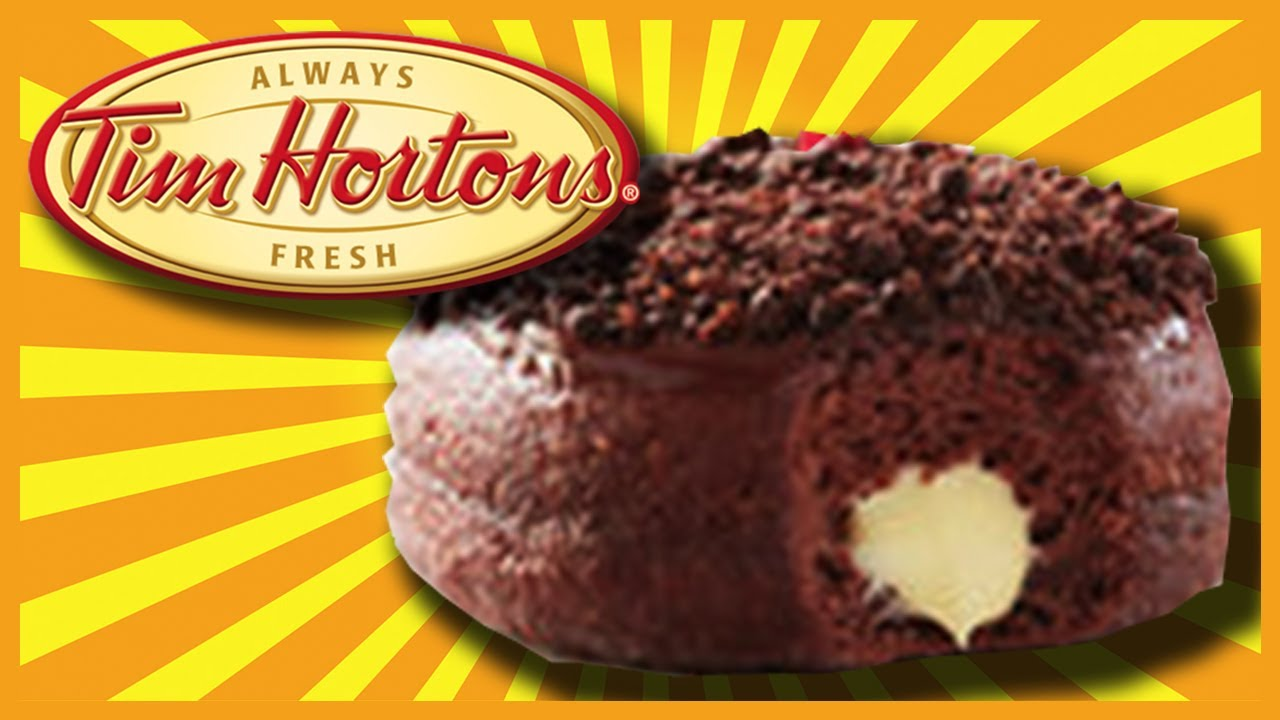 Nanaimo Bar Donut ???? at Tim Hortons in Port Carling, Muskoka