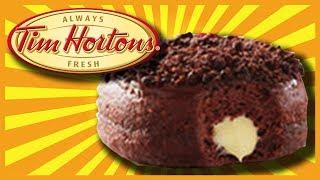Nanaimo Bar Donut at Tim Hortons in Port Carling, Muskoka