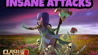 CLASH OF CLANS-INSANE ATTACKS-TH9