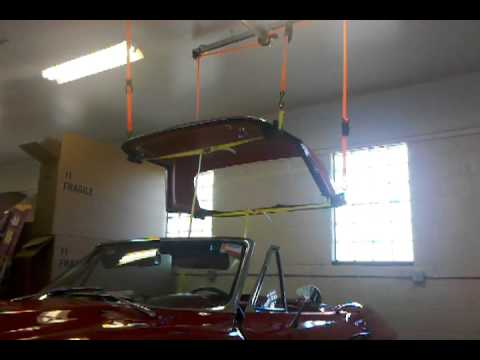 Hardtop Lift In Action Youtube